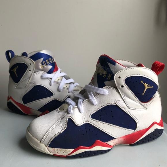 Mens Nike Air Jordan 7 Retro Edición Olímpica De Ray-ban toma de aclaramiento a0tygTcP